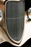 Gril classique d'automobile Images libres de droits