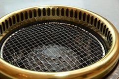 Gril coréen de barbecue de boeuf Photo stock