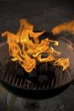 Gril de barbecue Images libres de droits