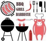 Gril de barbecue Image libre de droits