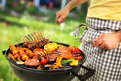 Gril de barbecue Image stock