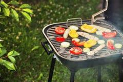 Gril de barbecue Photo libre de droits