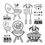 Gril de barbecue illustration libre de droits