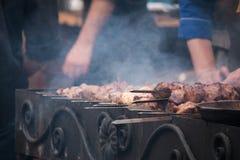 Gril de barbecue Photos libres de droits
