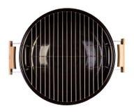 Gril de barbecue d'isolement sur le blanc Photo stock
