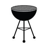 Gril de BBQ illustration de vecteur