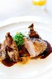 Gril de bifteck de poulet Photographie stock libre de droits