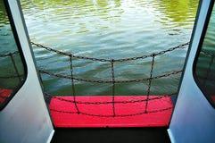 Gril de degré de sécurité de bateau Image libre de droits