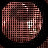 Gril de haut-parleur Photographie stock