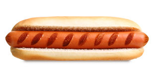 Gril de hot-dog photo stock