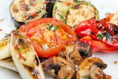 Gril de légumes d'apéritif Photo stock