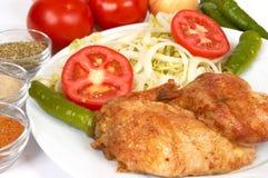 Gril de poulet photo libre de droits