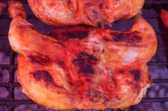Gril de poulet Photographie stock libre de droits