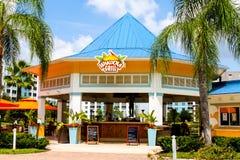 Gril de Wakoola, station de vacances de vert bleu, Orlando, FL Images libres de droits