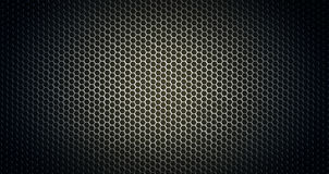 Gril en acier brillant Photographie stock