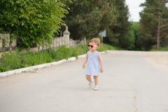 Gril en el camino Foto de archivo