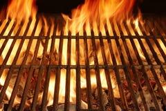Gril flamboyant vide de BBQ photos stock