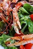 Gril mélangé des fruits de mer Photographie stock