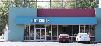 901 gril, Midtown Memphis, TN Image stock