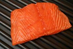 Gril saumoné Photo libre de droits