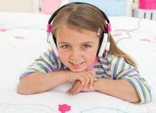 gril target30_1_ małą muzykę ja target33_0_ Obrazy Stock