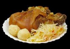 griled свинина колена Стоковое фото RF
