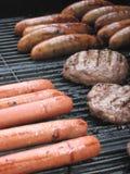 grillów mięsa obraz royalty free