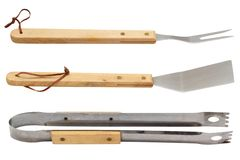 Grillów narzędzia Zdjęcia Stock