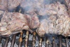 grillów stki Zdjęcie Stock