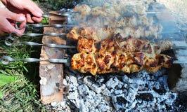 grillów węgle Zdjęcie Stock