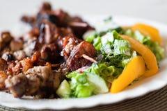 grillów warzywa Fotografia Royalty Free