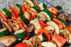 grillów warzywa Fotografia Stock