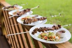 grillów warzywa Zdjęcia Stock