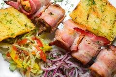 grillów warzywa Obrazy Royalty Free