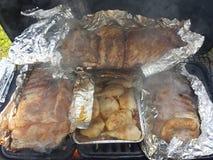grill Royalty-vrije Stock Foto's