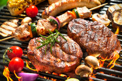 Free Grill Royalty Free Stock Image - 53357506