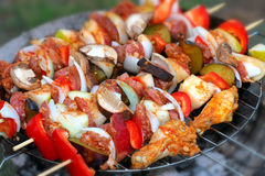The grill Royalty Free Stock Images