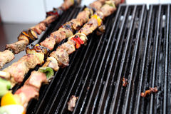 Grill appliance. In the kitchen Royalty Free Stock Photos