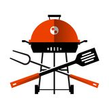 Grill, barbecue, barbeque. utensils for BBQ on Stock Photo