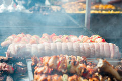 Grill and barbecue Royalty Free Stock Photos
