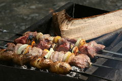 Grill, BBQ Lizenzfreie Stockfotos