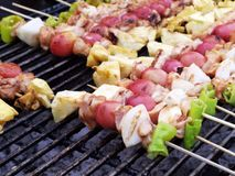 Grill BBQ Royalty Free Stock Images