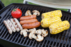 Grill bbq party Royalty Free Stock Images