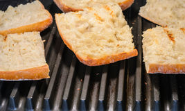Grill bread Royalty Free Stock Image