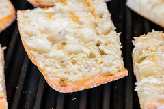 Grill bread Royalty Free Stock Photo