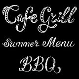 Grill cafe Royalty Free Stock Images