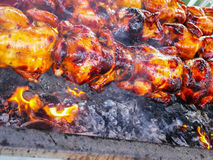 Grill chicken Royalty Free Stock Photo