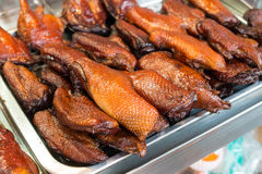 Grill chicken in asian style Royalty Free Stock Photos