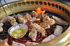 Grill chicken meat Royalty Free Stock Image