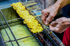 Grill chicket Stock Photography